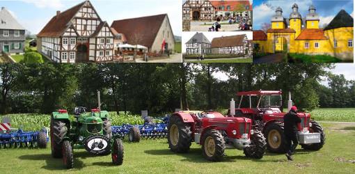 Drei-Tages-Fahrt nach Schloß Holte-Stukenbrock und Detmold (20.-22.06.2014)